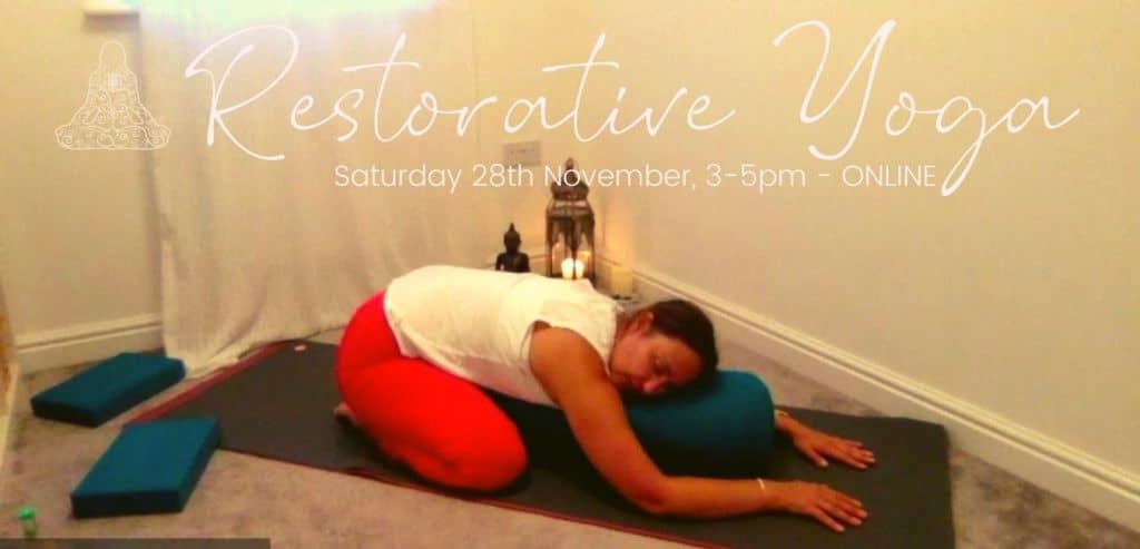 Restorative Yoga Workshop in St Austell, Cornwall by Human Compass
